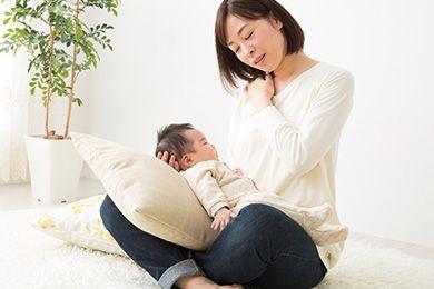 育児疲れ 写真